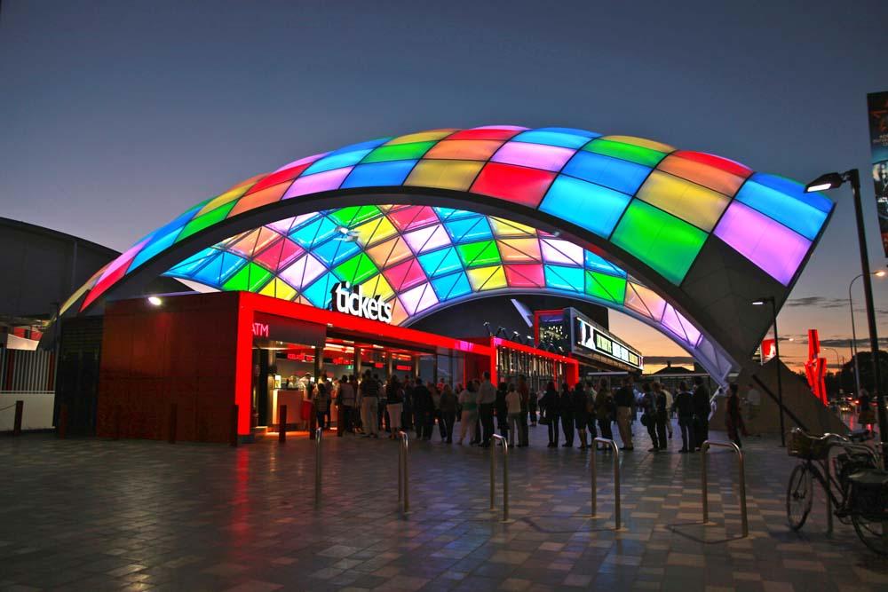 Entertainment Centre Adelaide.