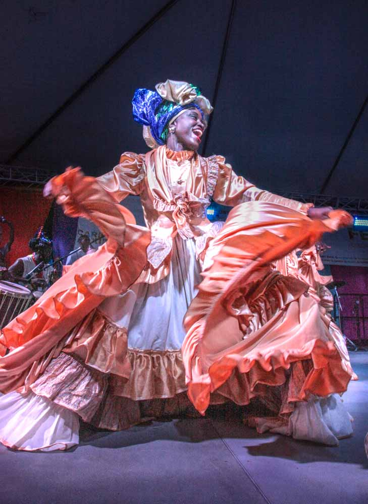 Event Photography. Caribbean dancer.