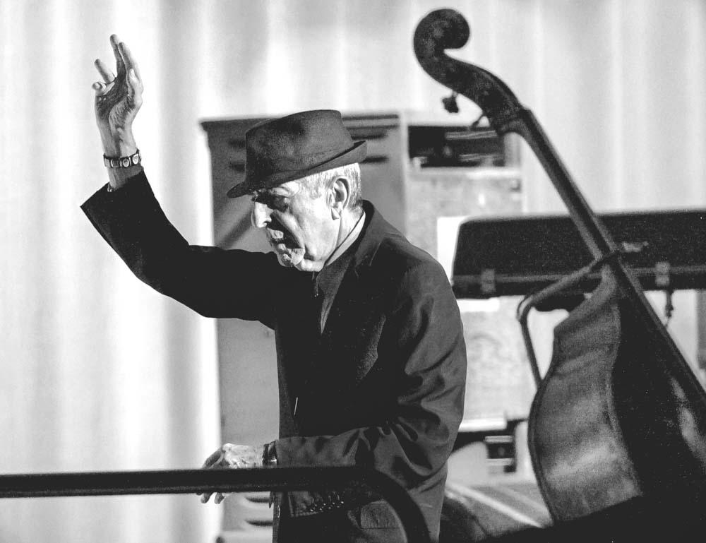 Leonard Cohen. Entertainment Centre.