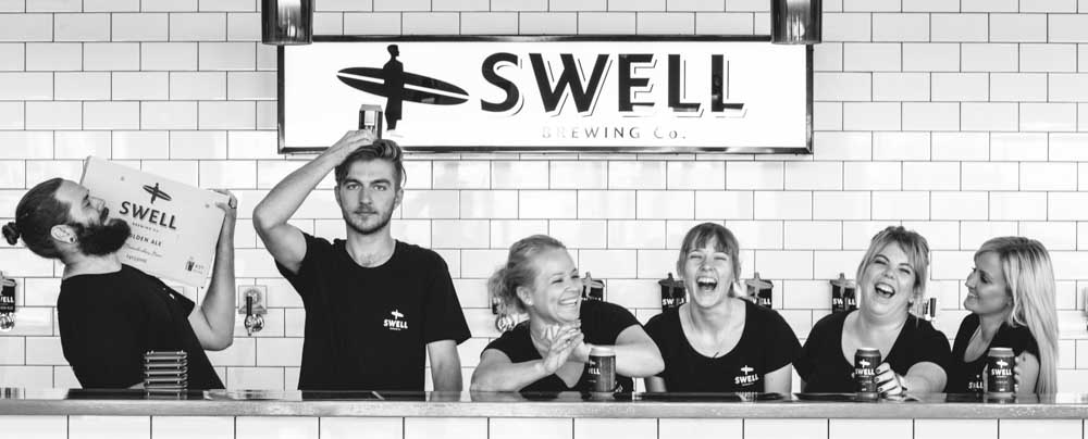 Commercial Photography Adelaide. Swell Brewing Company.