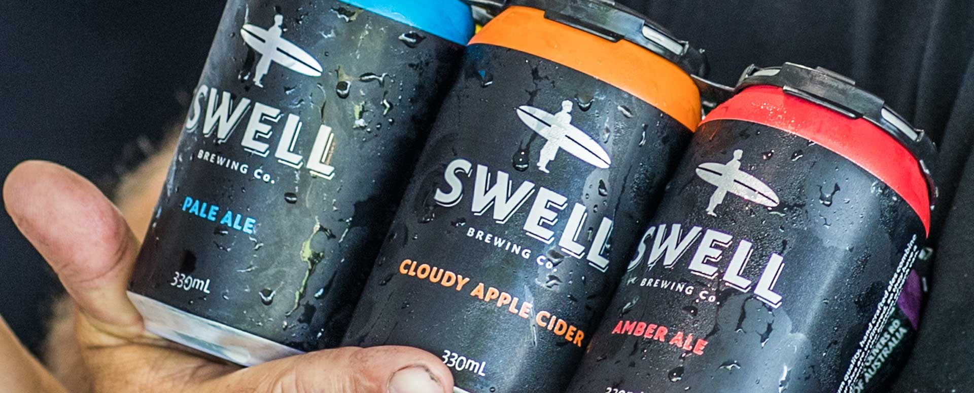 SWELL Brewing Co. Commercial Photography Adelaide.
