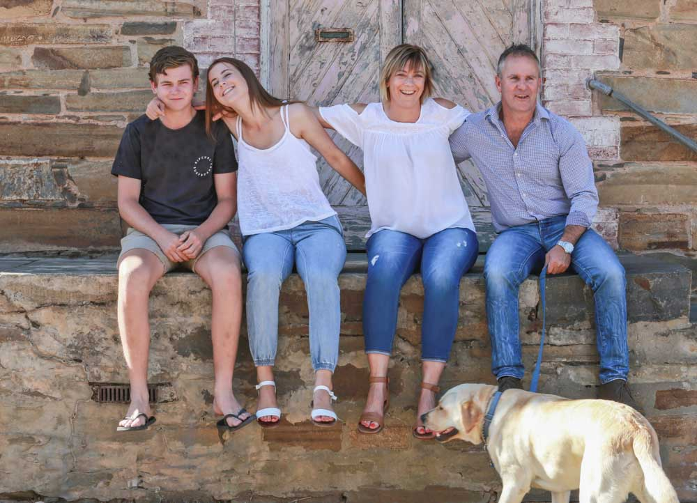 Family portrait photography Adelaide.