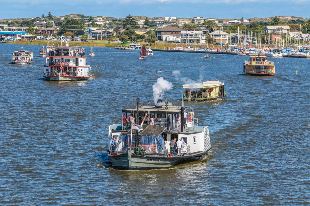 Wooden Boat Festival River Port of Goolwa. Alexandrina Council. Festival Photography.