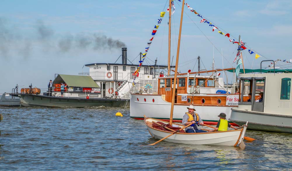 Wooden Boat Festival River Port of Goolwa. Festival and Event photography.