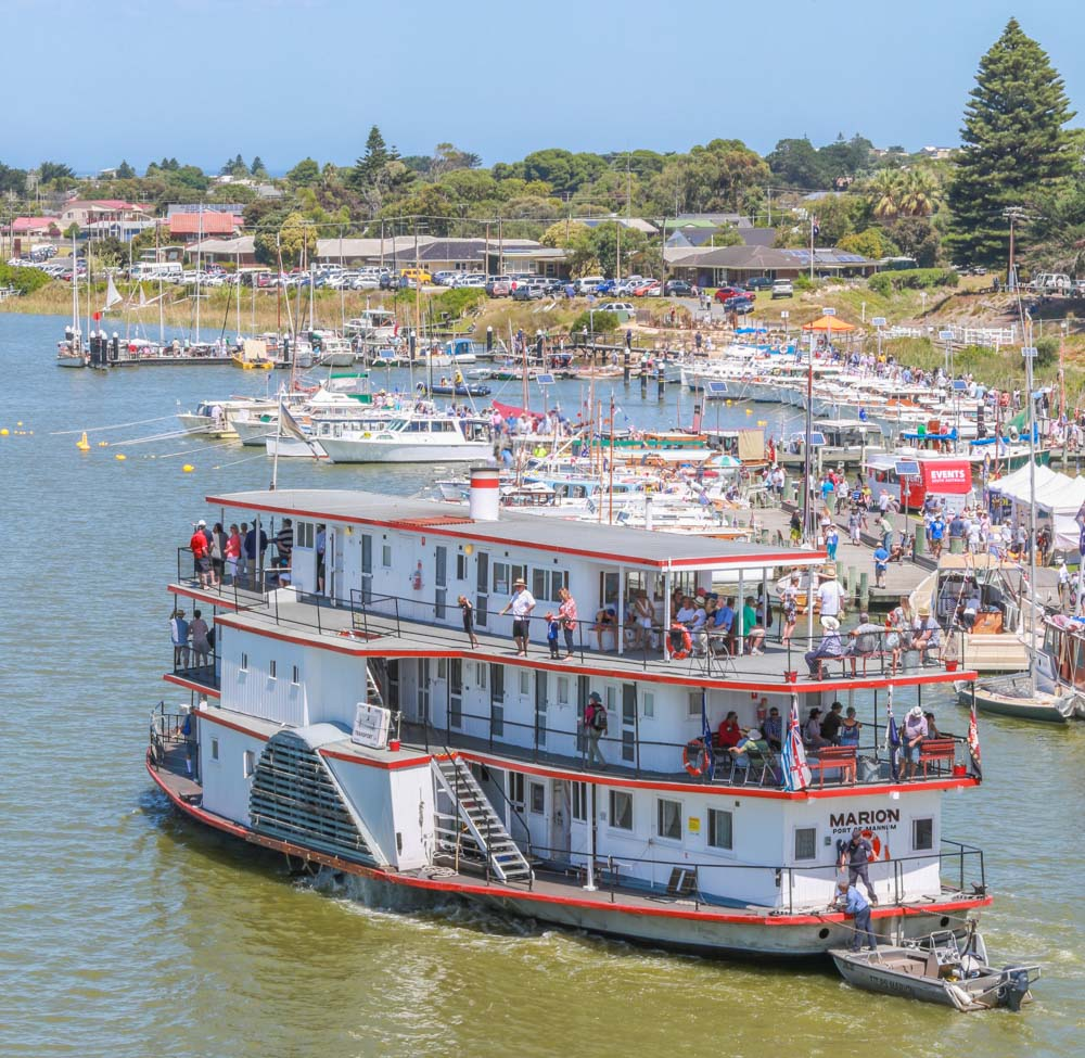 Festival Photography. Wooden Boat Festival River Port of Goolwa. Alexandrina Council Photography.
