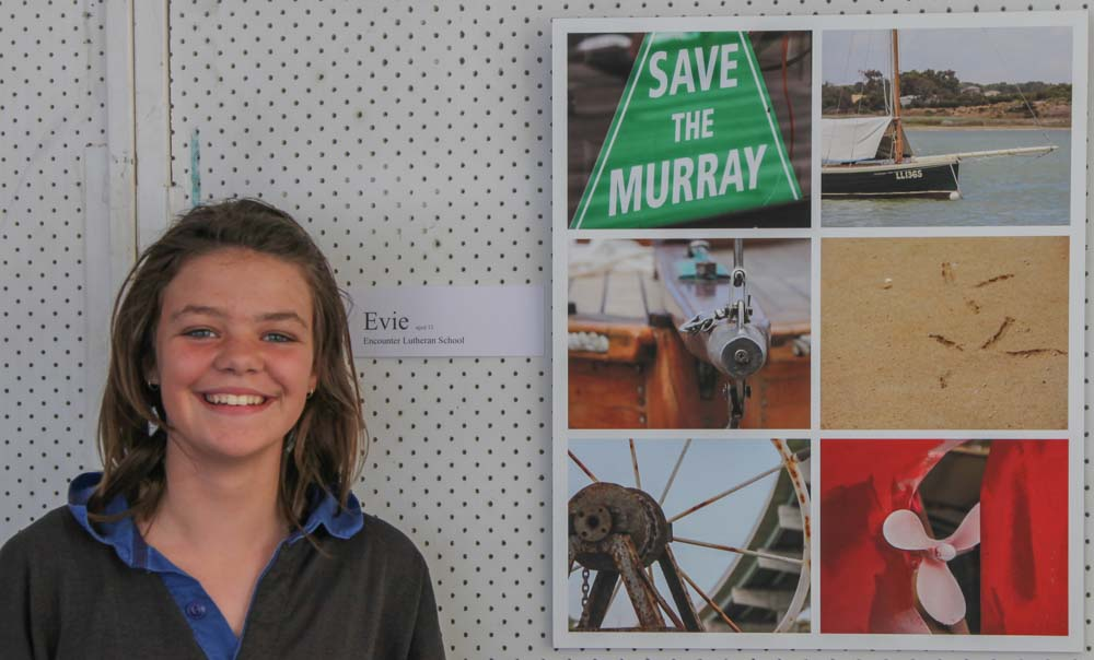 Wooden Boat Festival Goolwa. Student Photographic exhibition.