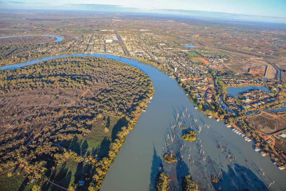 Aerial Photography Renmark.