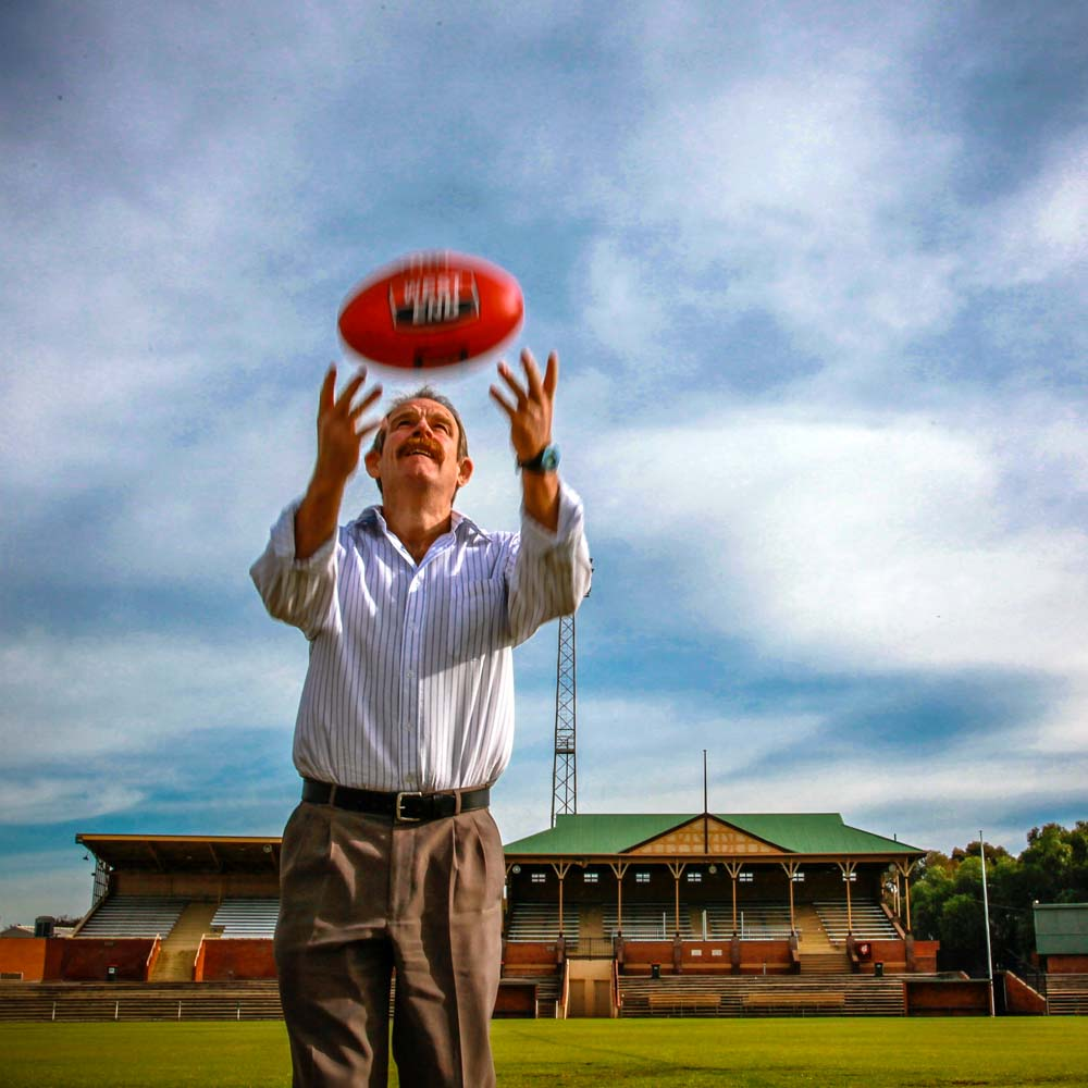 Commercial Photography Adelaide. SANFL. Football Umpire.