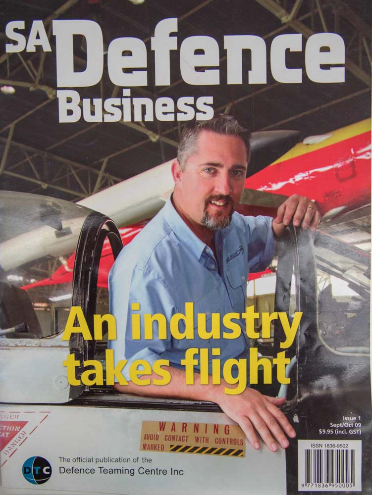 Commercial Photography Adelaide. Defence Business Magazine.