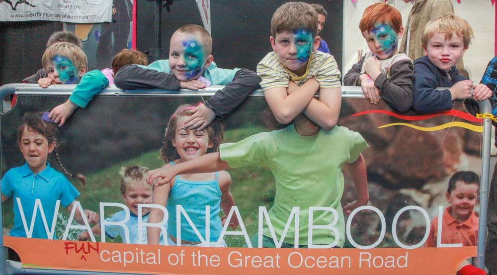 Festival Event Photography. Warrnambool Fun 4 Kids Festival. Event Photography.