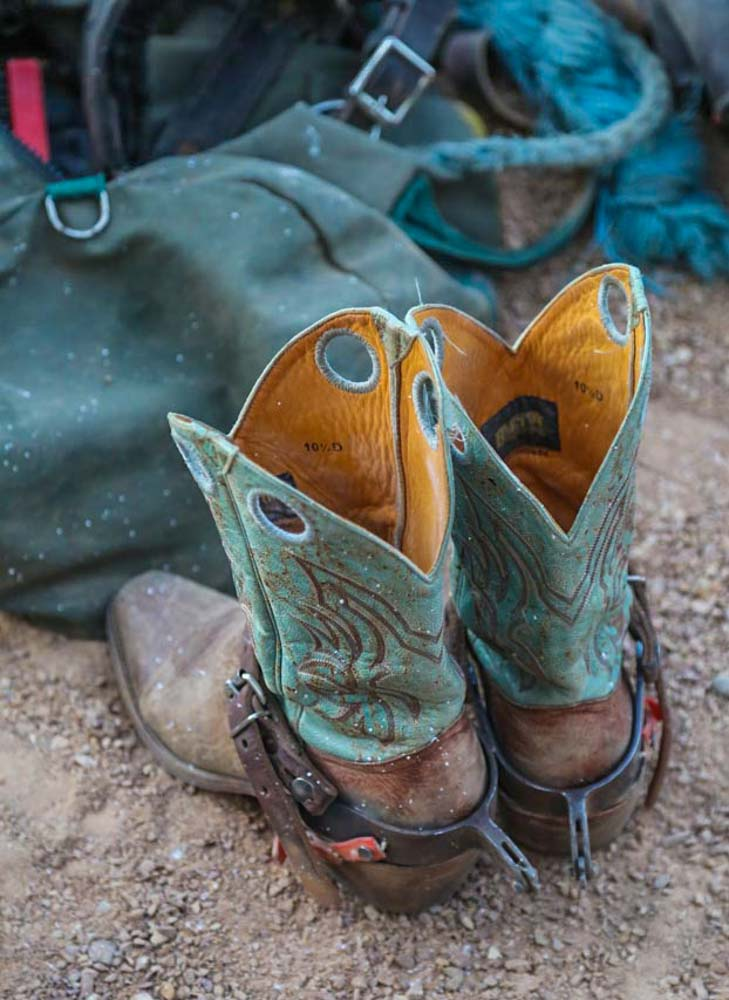 Event photography Australia. Rodeo boots.