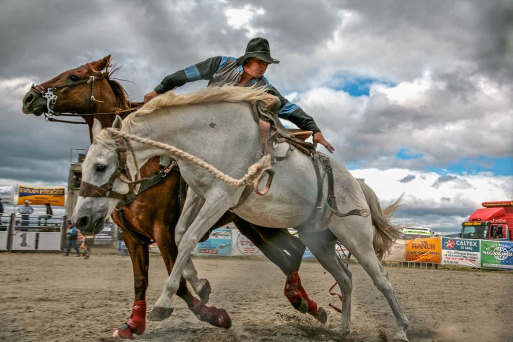 Event Photography. Te Anau Rodeo NZ.